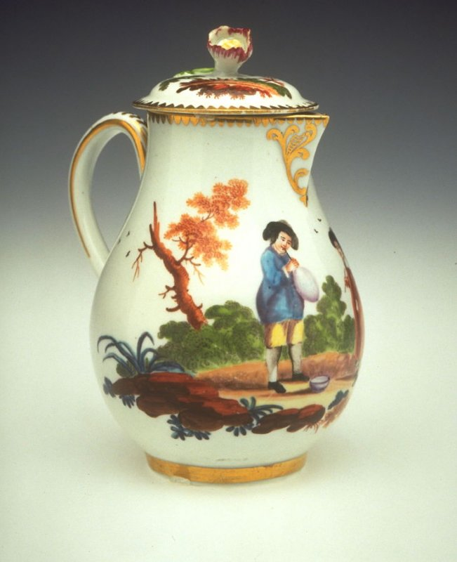 Cream Jug and Cover