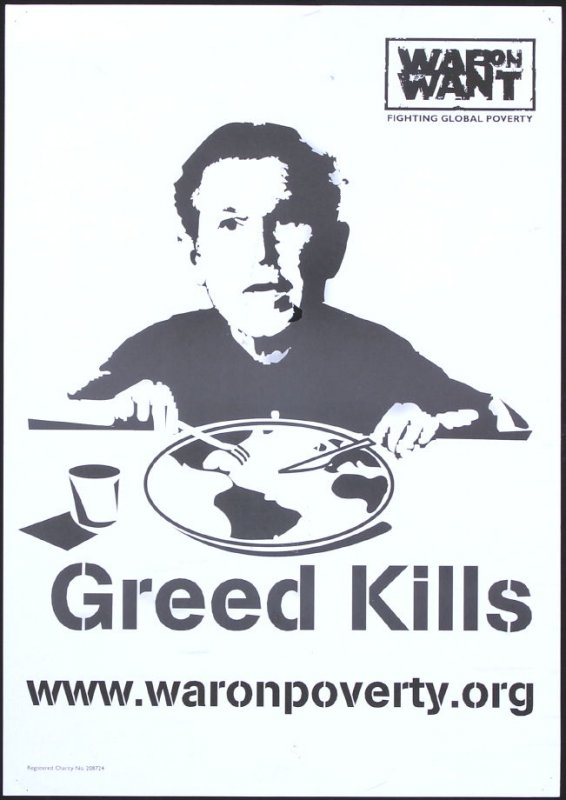 Greed Kills (War on Want: Fighting Global Poverty)