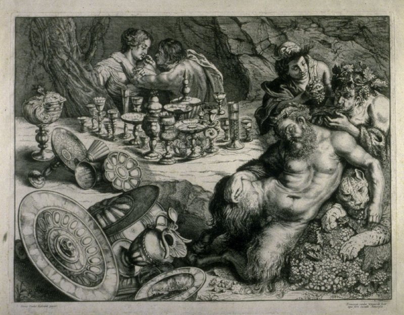 Untitled (Baccanal), after Peter Paul Rubens