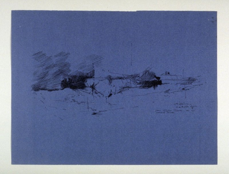 Untitled (Abstract Landscape)