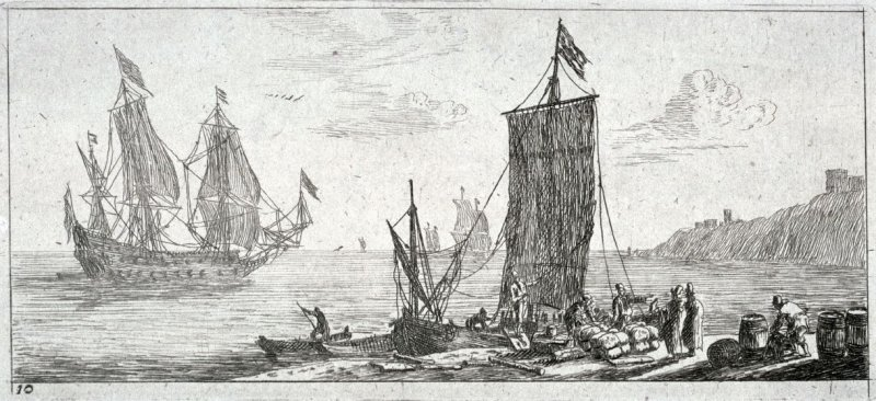 Bay with Moored 'Hoeker'