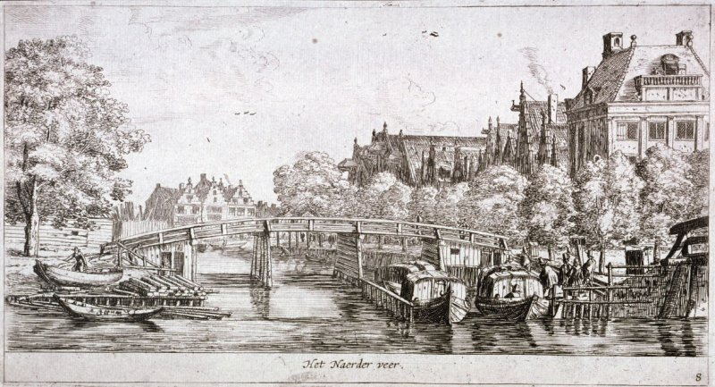 The Ferry to Naarden, on the river Amstel