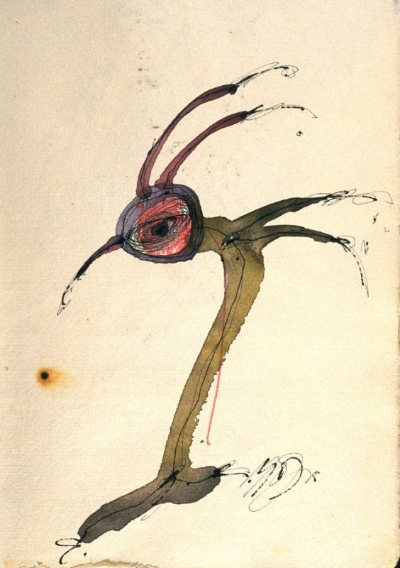 p. (2), book Untitled (sketchbook of drawings, collages, etc.)