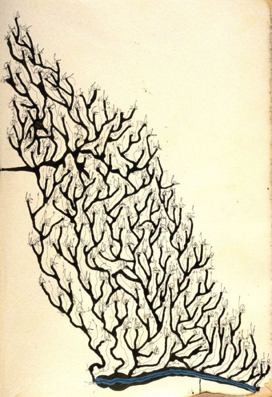 p. (3), book Untitled (sketchbook of drawings, collages, etc.)