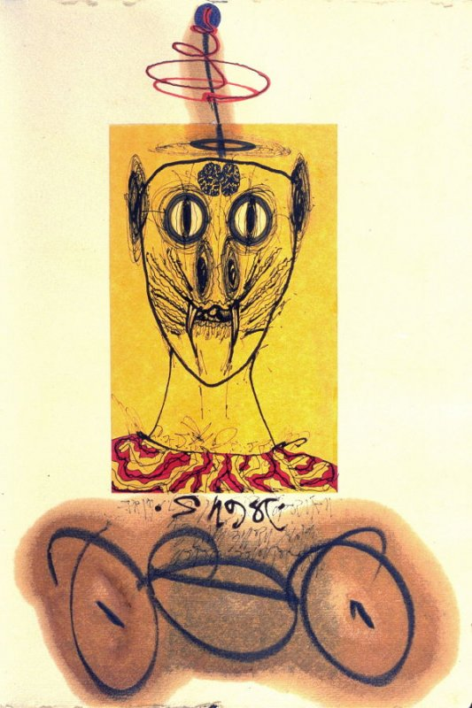 p. (8), book Untitled (sketchbook of drawings, collages, etc)